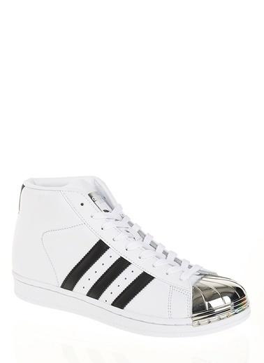 adidas Pro Model Metal Toe Beyaz
